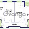 Продается квартира 3-ком 81.6 м² улица Крыленко 1, метро Улица Дыбенко