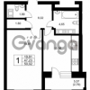 Продается квартира 1-ком 47.23 м² Ушаковская набережная 3, метро Черная речка