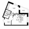 Продается квартира 1-ком 34.02 м² проспект Строителей 1, метро Улица Дыбенко