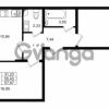 Продается квартира 2-ком 55.43 м² проспект Строителей 1, метро Улица Дыбенко