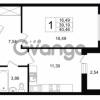 Продается квартира 1-ком 39.19 м² Шоссейная 1, метро Ладожская