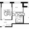 Продается квартира 3-ком 74.94 м² Шоссейная 1, метро Ладожская
