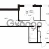 Продается квартира 2-ком 70.45 м² улица Катерников 1, метро Проспект Ветеранов