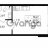 Продается квартира 1-ком 23.12 м² проспект Строителей 1, метро Улица Дыбенко
