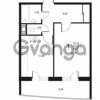 Продается квартира 1-ком 44.61 м² улица Катерников 1, метро Проспект Ветеранов
