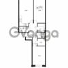 Продается квартира 2-ком 87.46 м² улица Катерников 1, метро Проспект Ветеранов