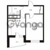 Продается квартира 1-ком 41.77 м² улица Катерников 1, метро Проспект Ветеранов