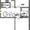 Продается квартира 2-ком 60.2 м² улица Бабушкина 82к 1, метро Пролетарская