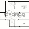 Продается квартира 1-ком 44.27 м² Малый пр. В.О. 64, метро Василеостровская