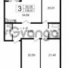 Продается квартира 3-ком 128.61 м² Новгородская улица 17, метро Чернышевская