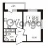Продается квартира 1-ком 31.46 м² улица Шувалова 7, метро Девяткино