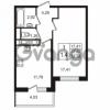 Продается квартира 1-ком 37.67 м² улица Шувалова 7, метро Девяткино