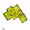Продается квартира 3-ком 79.9 м² проспект Маршала Блюхера 12Б, метро Лесная
