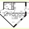 Продается квартира 1-ком 35.15 м² проспект Строителей 7, метро Улица Дыбенко