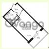 Продается квартира 1-ком 23.23 м² проспект Строителей 7, метро Улица Дыбенко