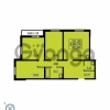 Продается квартира 3-ком 85.84 м² проспект Маршала Блюхера 12Б, метро Лесная