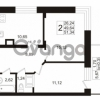 Продается квартира 2-ком 49.64 м² Европейский проспект 1, метро Улица Дыбенко