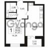 Продается квартира 1-ком 39.92 м² Кушелевская дорога 5к 5, метро Лесная