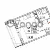 Продается квартира 1-ком 21.24 м² улица Шувалова 1, метро Девяткино