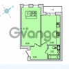 Продается квартира 1-ком 37.2 м² Центральная улица 83, метро Ладожская