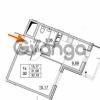 Продается квартира 1-ком 31.06 м² улица Шувалова 1, метро Девяткино