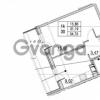 Продается квартира 1-ком 31.19 м² улица Шувалова 1, метро Девяткино