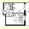 Продается квартира 1-ком 31.99 м² Английская улица 1, метро Улица Дыбенко