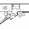 Продается квартира 2-ком 56.88 м² улица Шувалова 1, метро Девяткино