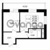 Продается квартира 1-ком 42.68 м² улица Костюшко 19, метро Московская