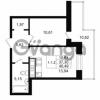 Продается квартира 1-ком 37.3 м² улица Костюшко 19, метро Московская
