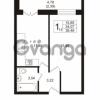Продается квартира 1-ком 34.07 м² Охтинская аллея 4, метро Девяткино