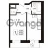 Продается квартира 1-ком 34.45 м² Охтинская аллея 4, метро Девяткино