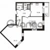 Продается квартира 2-ком 59.8 м² проспект Авиаторов Балтики 1, метро Девяткино