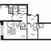 Продается квартира 2-ком 58.7 м² проспект Авиаторов Балтики 1, метро Девяткино