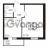 Продается квартира 1-ком 33.14 м² проспект Авиаторов Балтики 2, метро Девяткино