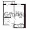 Продается квартира 1-ком 37.09 м² проспект Авиаторов Балтики 2, метро Девяткино