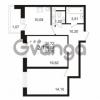 Продается квартира 2-ком 56.03 м² улица Адмирала Черокова 18к 2, метро Проспект Ветеранов