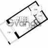Продается квартира 1-ком 24.46 м² Столичная улица 1, метро Улица Дыбенко