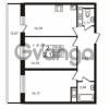 Продается квартира 2-ком 56.83 м² Столичная улица 1, метро Улица Дыбенко