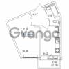 Продается квартира 1-ком 34.84 м² Русановская улица 15к 1, метро Пролетарская