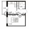 Продается квартира 1-ком 30.71 м² Комендантский проспект 53к 1, метро Комендантский проспект