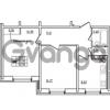 Продается квартира 2-ком 50.96 м² Привокзальная улица 1, метро Купчино