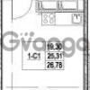 Продается квартира 1-ком 25.31 м² Столичная улица 1, метро Улица Дыбенко