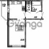 Продается квартира 1-ком 32.6 м² улица Бабушкина 82к 1, метро Пролетарская