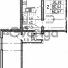 Продается квартира 2-ком 60.54 м² Парашютная улица 54, метро Комендантский проспект