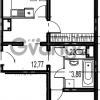Продается квартира 2-ком 62.91 м² Парашютная улица 54, метро Комендантский проспект