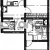 Продается квартира 2-ком 69.47 м² Парашютная улица 54, метро Комендантский проспект