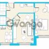 Продается квартира 2-ком 56.3 м² улица Лётчика Пилютова 44к 1, метро Проспект Ветеранов