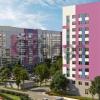 Продается квартира 1-ком 44.83 м² Петровский бульвар 3, метро Девяткино
