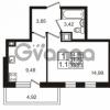 Продается квартира 1-ком 31.75 м² Немецкая улица 1, метро Улица Дыбенко